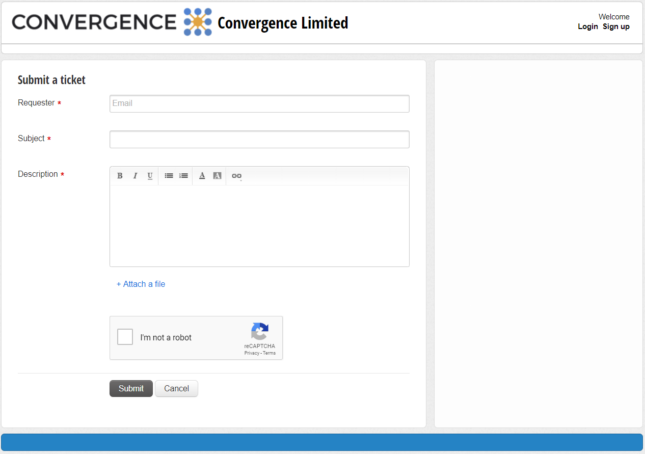 Convergence eCommerce Integration Support